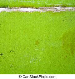 papier, groene
