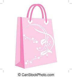 papier, het winkelen zakken, voor, jouw, ontwerp