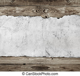 papier, holz, altes , hintergrund