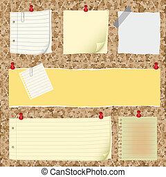 papier lettres, collection