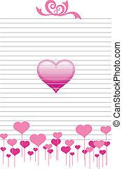 papier, liefde