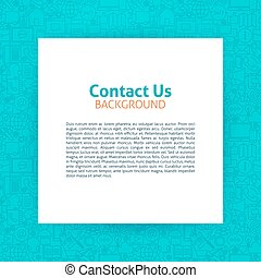 papier, nous, gabarit, contact
