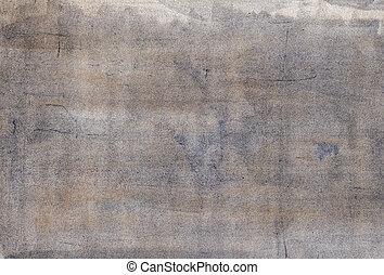 papier, ombragé, gris, peinture aquarelle