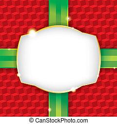 papier, omhulsel, kerstmis, achtergrond, kado