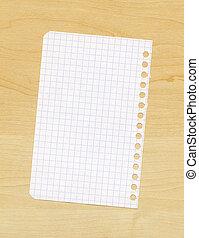 Gedetailleerd model papier wiskunde leeg for Tafel papier