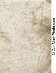 papier, oud, perkament, textuur