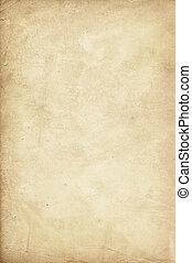 papier, oud, texture.