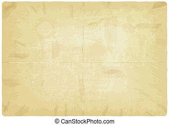 papier, oud, textuur