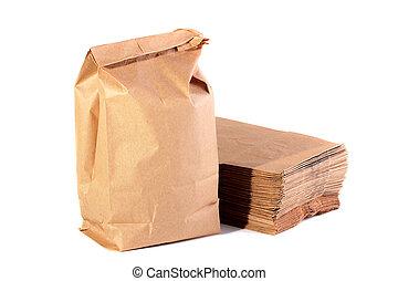 papier, pakete