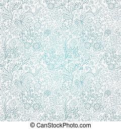 papier peint, été, printemps, résumé, emballage, seamless, modèle, fleurs, fond, thème, vecteur, conception, floral, ton, texture