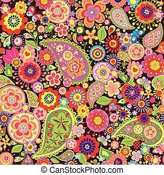 papier peint, coloré