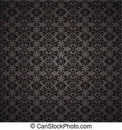 papier peint, gothique, seamless