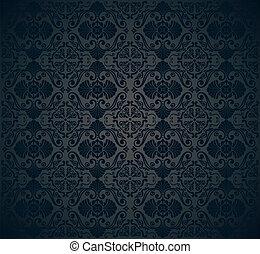 papier peint, noir