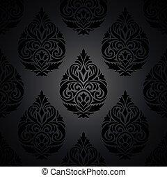 papier peint, royal, seamless