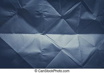 papier, plié, ou, fond, texture