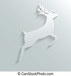 papier, renne