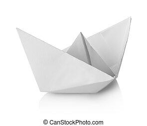 papier, scheeps