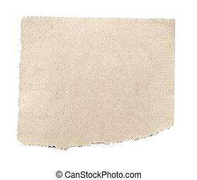 papier, tło, nowość, biały, rozerwał, wiadomość