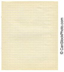 papier, textured, fond, fond