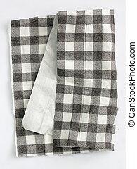 papier, tissu, fond, blanc