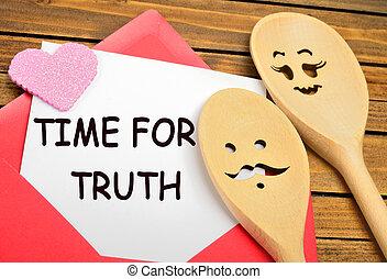 papier, vérité, mots, temps