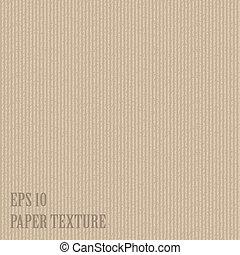 papier, vecteur, vieux, illustration, textured