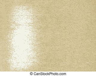 papier, vector, oud, textuur