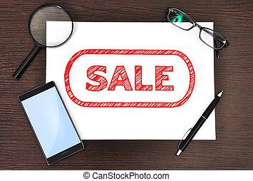 papier, verkoop