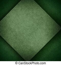 papier, vert, fond
