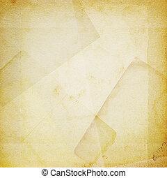papier, vieux, fond