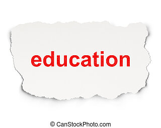 papier, wykształcenie, concept:, tło