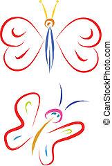 papillon, abbildung