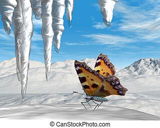 papillon, effet