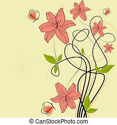 papillon, lilia