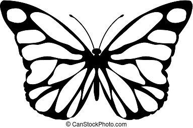 papillon, malalachite