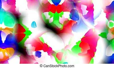 papillon, pétale, fleur, résumé