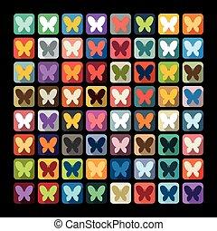 papillon, wohnung, design: