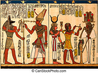 papiro, egipcio