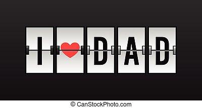 pappa, kärlek