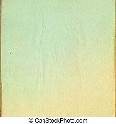 papper, årgång, fläckigt