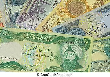 papper, av, dinar