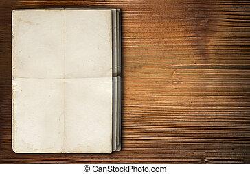 papper, bakgrund, tom