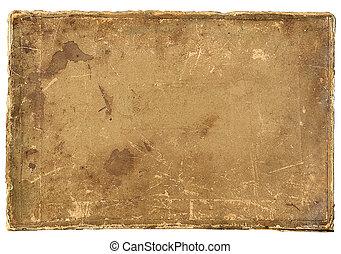 papper, gammal, bakgrund