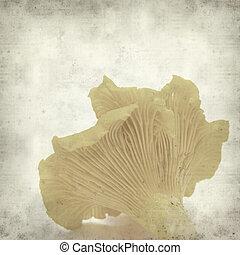 papper, gammal, bakgrund, Strukturerad