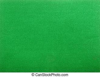 papper, grön fond