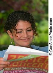 papper, läsning