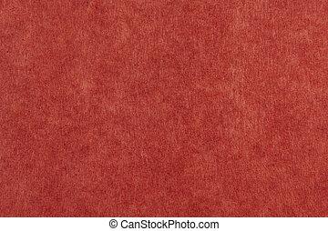 papper, röd, Struktur