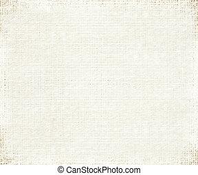 papper, revben, grå, gräns, bambu, skrapet