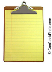 papper, skrivplatta