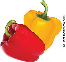 Paprika - Vector paprika